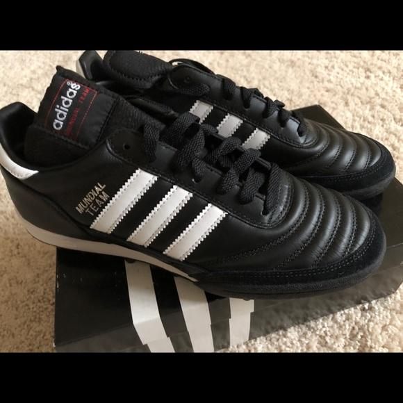 ae1b75e38 Adidas Mundial Team Unisex Soccer Shoe. M_5b56269c81bbc8b3e6dabb96